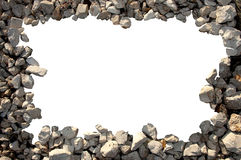 Frame of pebbles Royalty Free Stock Image