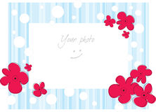 Frame for photo Royalty Free Stock Photos