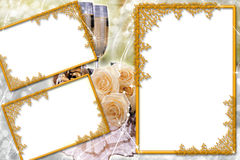 Frame for photo Stock Image