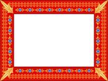 Frame for a photo Stock Photos