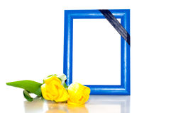 Frame for the photo Stock Images