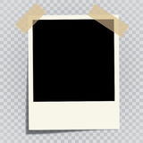 Frame photo instant Royalty Free Stock Photo