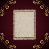 Frame for photos Royalty Free Stock Photography