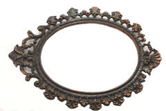 Frame for photos. Isolated object. Stock Image