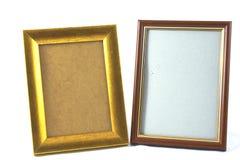 Frame on photos Royalty Free Stock Photo