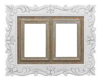 Frame. For photos on a white background Royalty Free Stock Photos