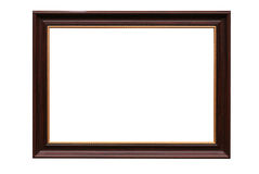 Frame for picture from baguette on white Royalty Free Stock Photography