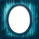 Frame for a picture at the grunge background Stock Photos
