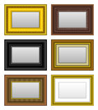 Frame Picture Photo Mirror. A set of picture and mirror frame Stock Photo