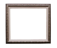Frame for picture on white Stock Photo