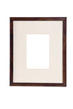 Frame for  picture on white background Stock Images