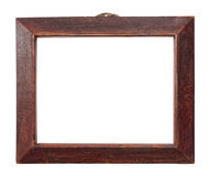 Frame 4. Frame for a picture on a white background Stock Photography