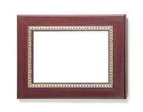 Frame plástico de Brown Fotografia de Stock