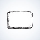 Frame pointer. Vector drawing Stock Images
