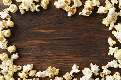 Frame of popcorn Stock Image
