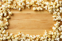 Frame of popcorn Royalty Free Stock Photo