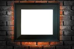 Frame preto Fotografia de Stock Royalty Free