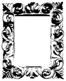 Frame preto Ilustração Royalty Free