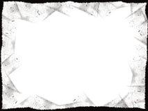 Frame preto de Grunge Fotografia de Stock