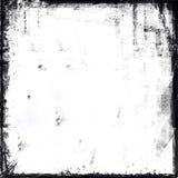 Frame preto e branco de Grunge Imagem de Stock Royalty Free