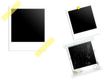 Frame. For  printing photos and edit Royalty Free Stock Photos