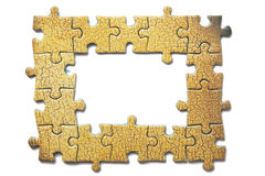 Frame of the puzzles Royalty Free Stock Image