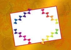 Frame quadrado ilustração royalty free