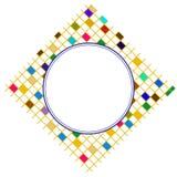 Frame quadrado colorido Fotos de Stock Royalty Free