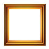 Frame quadrado do ouro Foto de Stock