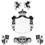 Frame real do vintage ilustração royalty free