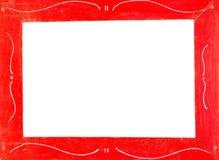 frame red arkivbilder
