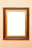 Frame red gold Stock Photo