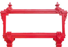 Frame of red sign Royalty Free Stock Photography