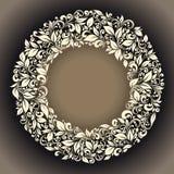Frame redondo Fotografia de Stock Royalty Free
