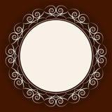 Frame redondo abstrato Foto de Stock Royalty Free