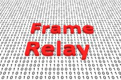 Frame relay Immagine Stock