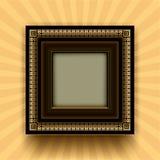 Frame retro ilustração stock