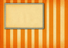 Frame on retro background Royalty Free Stock Photos