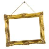Frame retro na corda Fotografia de Stock