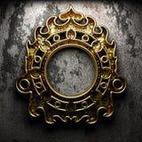 Frame retro no muro de cimento Imagens de Stock