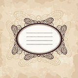 Frame in retro style Royalty Free Stock Images