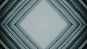 Frame of rhombic lines absrtact 3D rendering. Frame of rhombic lines. Computer generated abstract background. 3D rendering Stock Illustration