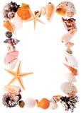 Frame romântico do mar Fotos de Stock Royalty Free