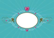 Frame romance Imagem de Stock