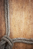 Frame of rope Stock Photography