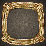 Frame of rope Stock Photo
