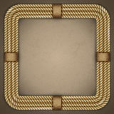 Frame of rope Royalty Free Stock Photo