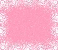 Frame rosado fino ilustração royalty free