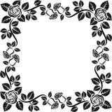 Frame roses Stock Image