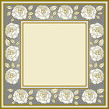 Frame of roses Royalty Free Stock Image
